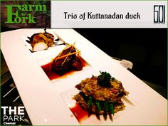 This dish recreates the duck in 3 distinct forms - roulade, roast and rillette. With a strong infusion of Southern flavours, Trio of Kuttanadan Duck is sure to please your palate! Available at Six 'O' One - The Park, till 4th of November. Stake your presence at this food fest with just one more day to go! For reservations, call 044 42676000. #FarmToFork #TheParkChennai #GoodGreens #Organic #FarmFresh #FreshProduce #Poultry
