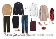 """""""Dress for Your Day"""" by bridgetteraes ❤ liked on Polyvore featuring J.Crew, MICHAEL Michael Kors, Lafayette 148 New York, Sam Edelman, Madewell, Ivanka Trump, Topshop, Alexis Bittar, Banana Republic and Gas Bijoux"""