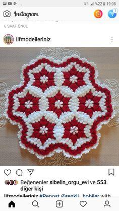 Crochet Doilies, Crochet Flowers, Bargello, Yarn Crafts, Wordpress Theme, Pot Holders, Elsa, Free Pattern, Stencils
