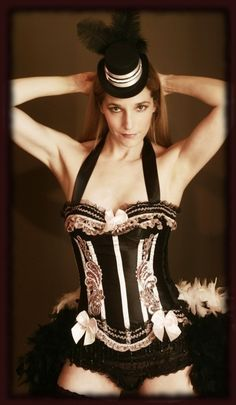 BARRYMORE Sexy Valentine's Day Burlesque corset by olgaitaly