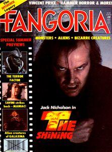 Fangoria - a monthly horror fix.