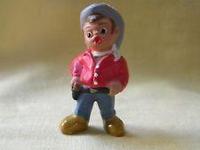 Cowboy Vintange Mud figurine from Spain
