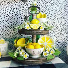 45 Breathtaking ideas for the spring kitchen - Kitchen Decor Themes Spring Kitchen Decor, Lemon Kitchen Decor, Kitchen Decor Themes, Spring Home Decor, Kitchen Ideas, Country Farmhouse Decor, Country Kitchen, Western Kitchen, Le Talent