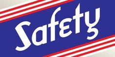 Safety Font Download #font#fonts#typography#lettering