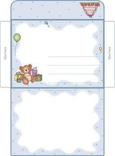 Borboleta Azul: Envelopes