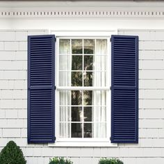 White House With Blue Shutters Pinterest Blue Shutters