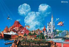Tokyo Disney, Tokyo japan