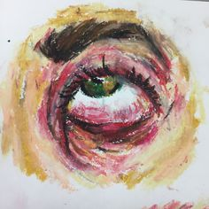 I really like oil pastels right now
