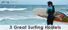 """Looking for some beachin' hostels to pick up a surfboard and hit some gnarly waves around the world? Here are some surfer's havens where you can have some wicked fun before you even have the chance to say - surf's up!  1. Boat Harbour, Australia – Melaleuca Surfside Backpackers  [caption id=""""attachment_1148"""" align=""""aligncenter"""" w"""