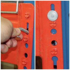 Pallet Rack Clip The Universal Pallet Rack Safety Drop Pin Racking System, Industrial Shelving, Beams, Pallet, Door Handles, Shelf, Safety, Hardware, Drop