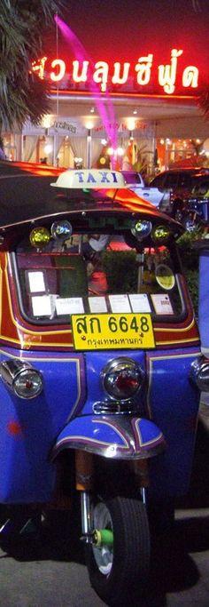 ~Tuk Tuks, Bangkok, Thailand | House of Beccaria