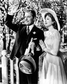 """Ronald Colman and Greer Garson in """"Random Harvest"""" ~**Ronald Colman had such an amazing voice** Famous Movies, Old Movies, Vintage Movies, Golden Age Of Hollywood, Vintage Hollywood, Classic Hollywood, Hollywood Star, Ronald Colman, Old Movie Stars"""