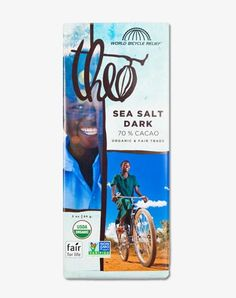 Sea Salt 70% Cacao | Theo