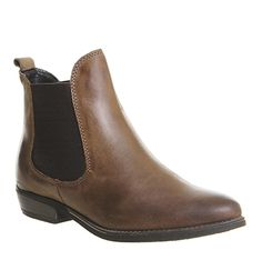 Office Dallas 2 Chelsea Boots Brown Leather - Ankle Boots