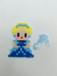 Hama beads disney princess cinderella