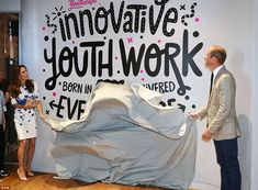As the royal couple's visit to Youthscape came to an end, Kate and Will pulled…
