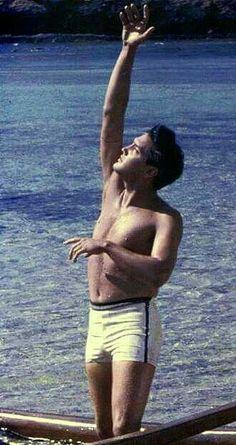 Elvis on the beach