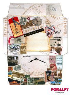 Free vintage envelope #printable