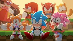 Sonic The Hedgehog, Hedgehog Art, Sonic Unleashed, Mundo Dos Games, Classic Sonic, Sonic Mania, Sonic Franchise, Sonic Fan Characters, Fictional Characters