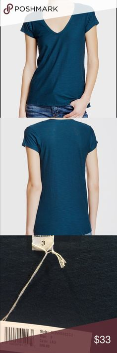 James Perse Boyfriend T-shirt Super relaxed t-shirt! Lightweight fabric made of cotton and modal. Color is gorgeous real. An everyday basic tee. James Perse Tops Tees - Short Sleeve