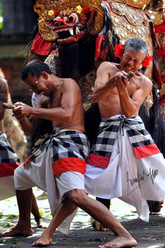 Barong Dance - Gianyar, Bali ❀ Bali Floating Leaf Eco-Retreat ❀ http://balifloatingleaf.com ❀