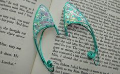 Child Sized Glitter Elf Ears  Includes Free by TheGreenSorceress