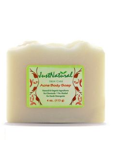 Most soaps for acne are made from harsh chemicals. Often, at first they may seem to help clear up your acne only to have it return stronger. One reason that your acne returns may be attributed to your skin having been suppressed by the chemical agents in the soap and then having a reaction against it. This can lead to more acne breakouts. This natural acne body soap is the safest and the most powerful helping and renewing for beautiful healthy clear skin without side effects.