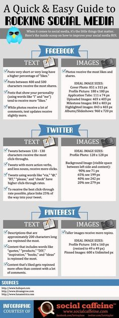 A Quick And Easy Guide to Rocking Social Media [INFOGRAPHIC] #socialmedia #infographic #smm #socialmedia #howtousesocialmedia