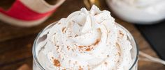 - Stabilized Whip Cream, foolproof recipe for stabilized whipped cream with a festive touch! Sturdy Whipped Cream Frosting, Stabilized Whipped Cream, Making Whipped Cream, Chocolate Whipped Cream, Tasty Chocolate Cake, Homemade Whipped Cream, Köstliche Desserts, Delicious Desserts, Dessert Recipes