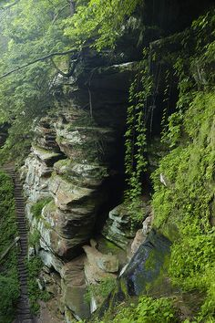 Rock house Hocking Hills, OH