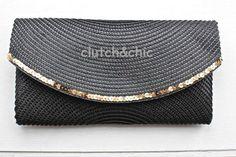 clutch&chic: fundo preto