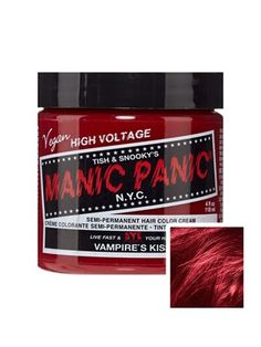 Sally Beauty offers Manic Panic Semi-Permanent Hair Colors for a bold and fearless hair color that last weeks. Manic Panic is a direct hair dye that requires no mixing, and is PPD, ammonia, and paraben-free. Vegan and cruelty-free formula. Hair Color Cream, Hair Color Blue, Blue Hair, Manic Panic Blue Moon, Cheveux Manic Panic, Nyc, Manic Panic Enchanted Forest, Midnight Hair, Midnight Blue