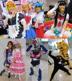 GOTHIC LOLITA & STEAMPUNK ARTISTS AT TOKYO DESIGN FESTA. CYBERPUNK BAND PSYDOLL, ZOESTYLES KERA ARENA, TAMA KAWAII GIRLS. creepy dolls exhibit japan, japanese modern art convention, goth industrial indie bands concert, tokyo big sight, cnngo cnni cnn international - I see you LaCarmina