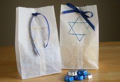 Gift Bags for Hanukkah