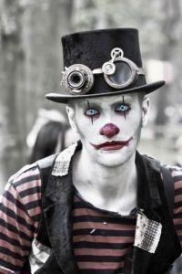 Clown-Makeup-Ideas for men