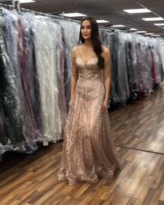 Back long prom evening dress champagne long dress, graduation dresses, ho. Grad Dresses Long, Elegant Prom Dresses, Formal Evening Dresses, Pretty Dresses, Homecoming Dresses, Evening Gowns, Beautiful Dresses, Dress Long, Graduation Dresses