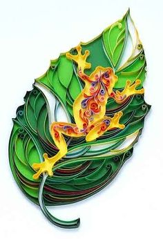 quilling pictures   QUILLING