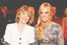 Carrie & her mom