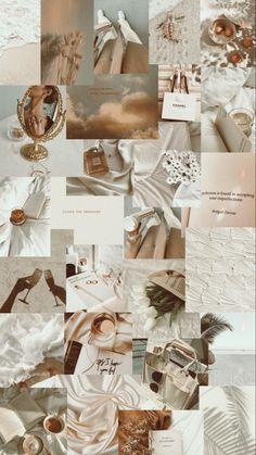 Wallpaper vintage beige