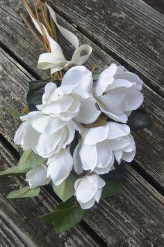 Bridal Bouquet Magnolia Blossoms