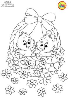 Easter coloring pages - Uskrs bojanke za djecu - Free printables, Easter bunny, eggs, chicks and more on BonTon TV - Coloring books Easter Coloring Pages Printable, Easter Coloring Sheets, Easter Bunny Colouring, Spring Coloring Pages, Coloring Book Art, Cute Coloring Pages, Coloring Pages To Print, Adult Coloring Pages, Coloring Pages For Kids