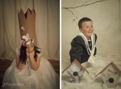 fotografía comunión igorre en estudio piaalvero