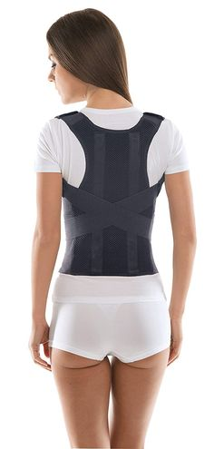 67534ea744 Comfort Posture Corrector and Back Support Brace   100%-Cotton Liner - XX-