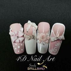 Brillbird nail art