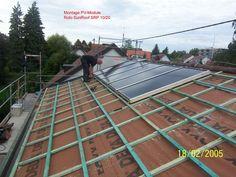 Montag einer Photovoltaik-Anlage durch Joachim Raumer Dachdeckermeister in Stuttgart (70569) | Dachdecker.com