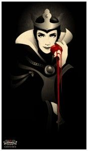 Disney confession - never ridden Snow White! Great shot of the Evil Queen from http://fav.me/de3rx0