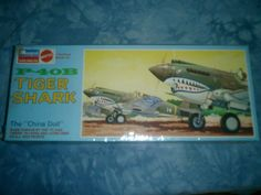 NOS FACTORY SEALED 1968 Monogram 1-48 Scale P-40b Model by MyHillbillyWays on Etsy