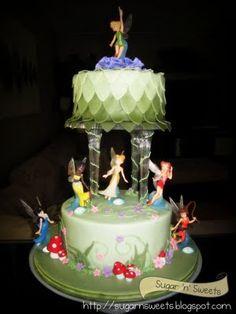 Tinkerbell/Disney Fairies cake