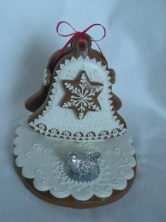 Gingerbread Cookies, Christmas Cookies, Christmas Ornaments, Christmas Time, Xmas, Sugar Art, Royal Icing, Advent, Biscuits