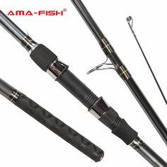 AMA-Fish 100% Original Feeder Rod 3.6m Spinning Rod 3 Sections Carbon Rods M Action Spinning Fishing Rod
